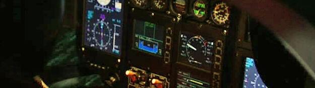 Tak trenują nocne loty na symulatorze