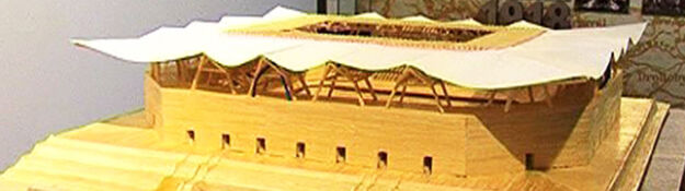 13500 zapałek, 1,5 litra kleju: w 307 dni zbudował stadion Legii