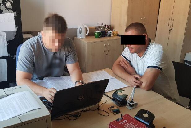 Mężczyzna usłyszał zarzuty Komenda Stołeczna Policji