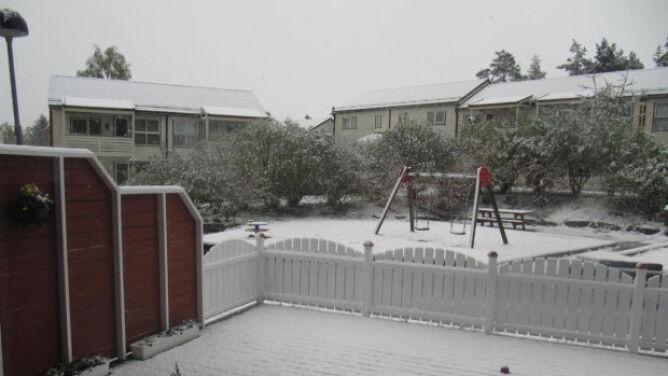 W majówkę znów sypnęło śniegiem! Spokojnie, tym razem nie u nas