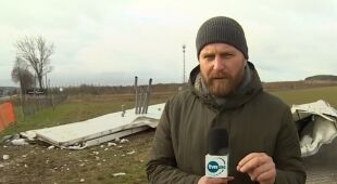 Zerwany dach na Dolnym Śląsku
