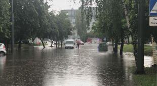 Zalane ulice w Lublinie