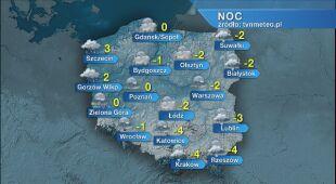 Prognoza pogody na noc 22/23.03